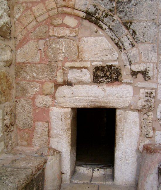 entrée de la Basilique de la Nativité